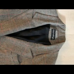 100% merino wool blazer size 10